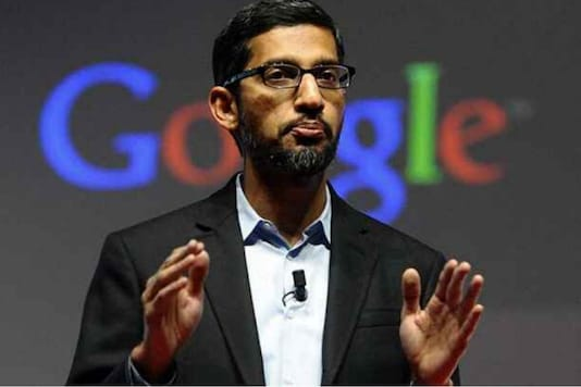 File photo of Google CEO Sundar Pichai.