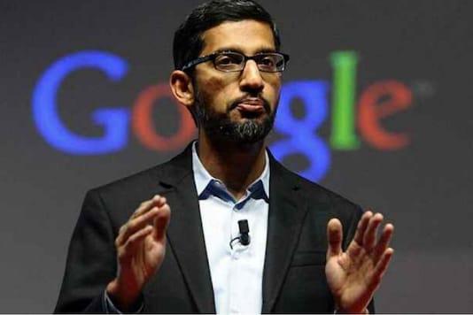 File photo of Google CEO Sundar Pichai.