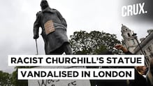 Winston Churchill's Statue Vandalised During #Blacklivesmatters Protests