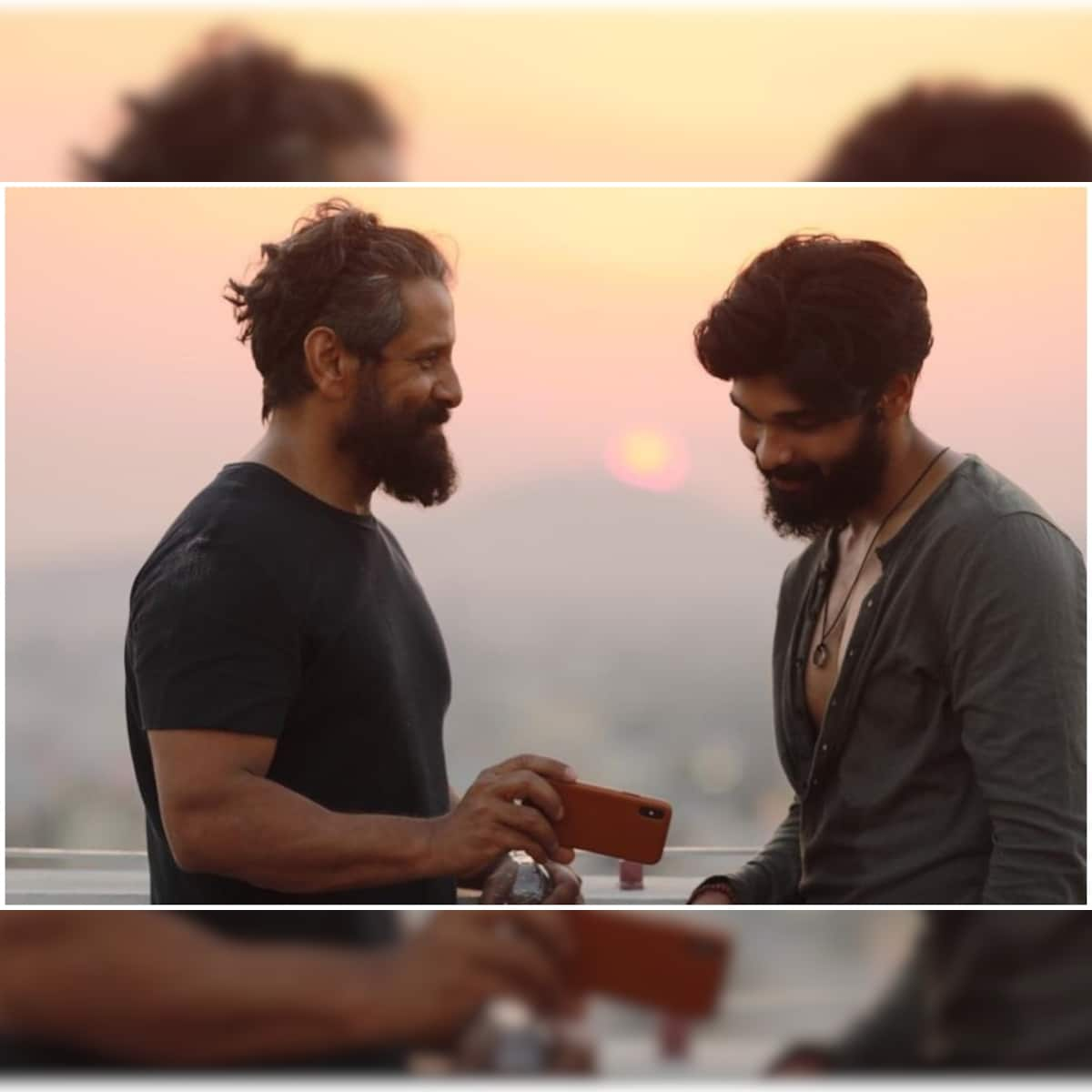 Tamil Star Vikram to Act with Son Dhruv Vikram for the First Time in  Chiyaan 60