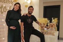Natasa Stankovic Is Prettiest Mommy-to-be In This Pic With Hardik Pandya From Her Baby Shower