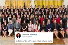 Viral Photos of Trump and Obama's Presidential Interns Ask an Uncomfortable Question on Racism