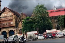 PICS: Massive Fire Breaks Out at Crawford Market in Mumbai
