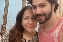 Varun Dhawan Shares Endearing Moments from Mother Karuna's Midnight Birthday Celebration