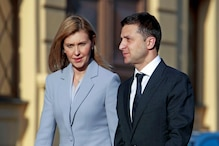 Ukraine President Volodymyr Zelenskiy's Wife Olena Tests Positive For Coronavirus