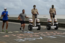 Mumbai Police Adds Fleet of New Segway Electric Scooters to Patrol Streets: Watch Video
