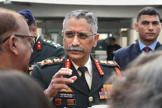 File photo of army chief General MM Naravane. (PTI)