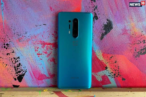 The recently introduced OnePlus 8 Pro, which sold out in India in a flash sale within minutes. (Photo: News18.com)