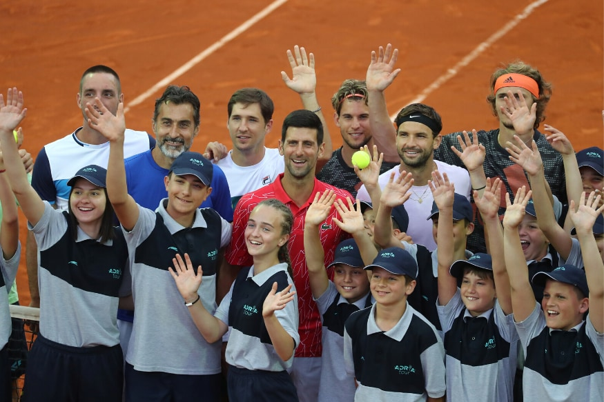 Embarrasment For Novak Djokovic S Charity Tennis Event As Montenegro Leg Cancelled Over Covid 19 Rules