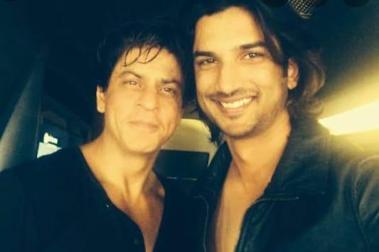 Shah Rukh Khan and Sushant Singh Rajput