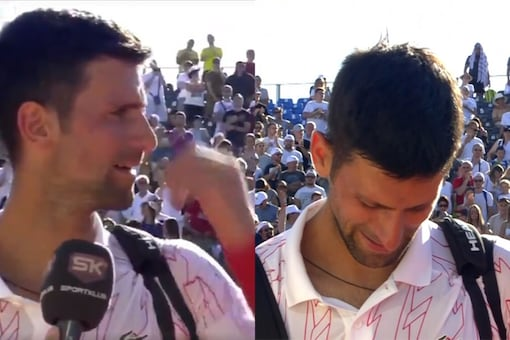 Novak Djokovic (Photo Credit: Twitter)