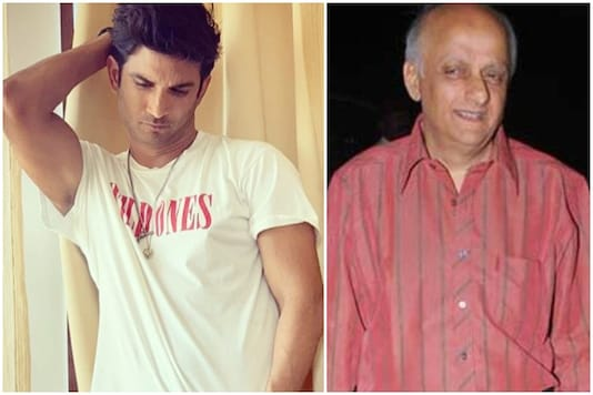 Sushant Singh Rajput and Mukesh Bhatt