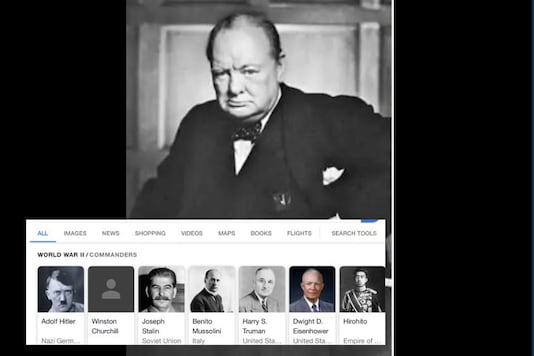 Winston Churchill's Photograph Disappears from Google Search Results, Restored After Backlash