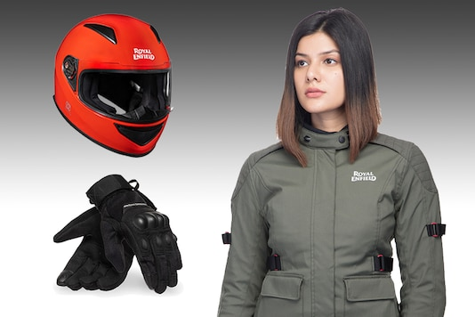 Royal Enfield has launched apparel for women. (Photo: Royal Enfield)