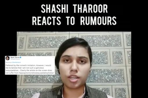 Screenshot from video tweeted by Saloni Gaur.
