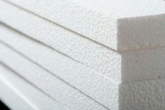 Representative image of polystyrene. (Credit: Twitter)