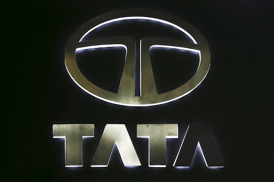 The logo of Tata Motors.  REUTERS/Chaiwat Subprasom/File Photo