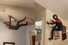 Father Giving His Son a Spider-Man Experience in This Unique Way  Impresses Netizens