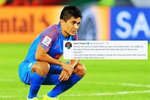 'Resolve This Across a Table, Not at the Border': Sunil Chhetri Mourns for Martyred Soldiers in Ladakh