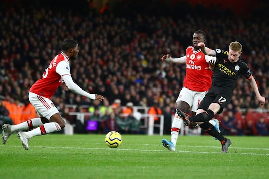 Arsenal-Manchester City (Photo Credit: Reuters)