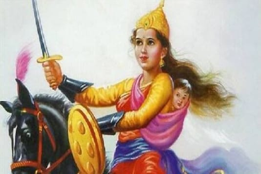 Formerly known as Manikarnika, the queen of Jhansi refused to relinquish her kingdom and decided to wage a war against the British to save her state. (Photo: News18 Hindi)