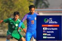 India Drawn in Tough Group at AFC U-16 Championship Bahrain 2020