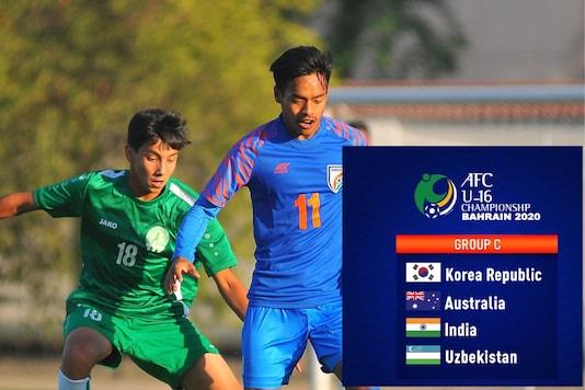 AFC U-16 Championship India (Photo Credit: @IndianFootball.News18)