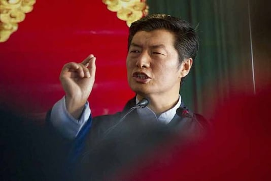 File photo of Lobsang Sangay, the  President of the Central Tibet Administration. (AP image)