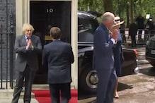 Namaste London? Boris Johnson and Prince Charles Greet France's Macron with Desi Twist