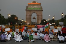India-China Face-Off: BJP Workers Stage a Protest at India Gate