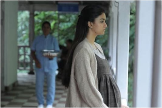 Keerthy Suresh in a still from 'Penguin'