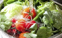 Cleaning everything regularly? Great.  But how are you cleaning your veggies and fruits?
