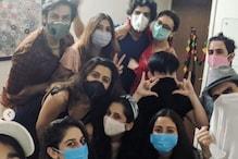 Karan Wahi, Sanaya Irani Attend Gautam Hegde's Birthday Celebration Wearing Masks