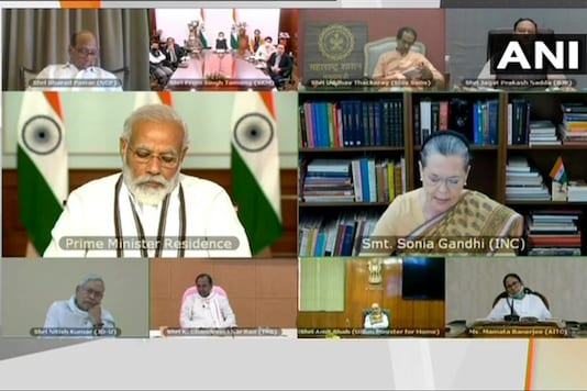 Prime Minister Narendra Modi chairs all-party meeting to discuss India-China border tensions on Friday.