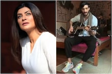 Sushmita Sen Shares Romantic Video of Boyfriend Rohman Shawl Singing for Her on Sets of Aarya