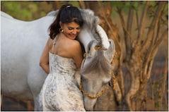 Jacqueline Fernandez Finds Horse Riding at Salman Khan's Farmhouse 'Therapeutic'