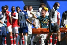 Premier League: Arsenal Goalkeeper Bernd Leno Stretchered Off in Agony at Brighton & Hove Albion