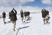 International Yoga Day 2020: ITBP Personnel Perform Yoga in -20° Celsius in Ladakh