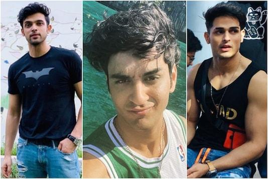 L to R: Parth Samthaan, Vikas Guppta, Priyank Sharma