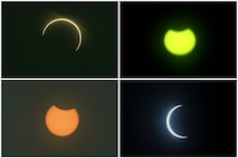 Social Media Ablaze with Photos after Rare 'Ring of Fire' Solar Eclipse Spotted in India