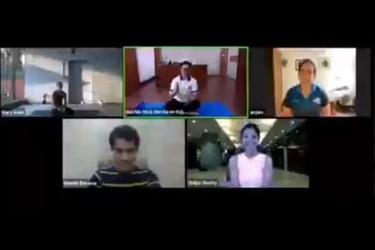 Kiren Rijiju, Mary Kom, Anjum Moudgil, Shilpa Shetty (Photo Credit: Twitter)