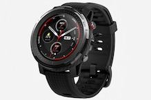 Amazfit Stratos 3 Smartwatch With 14-Day Battery Life Launched in India: Check Price, Specs and More