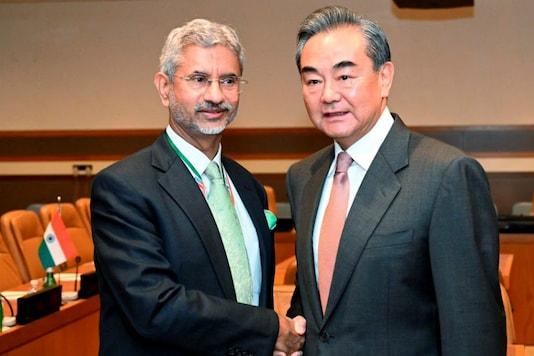 S Jaishankar with this Chinese counterpart Wang Yi. (PTI File)