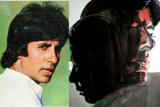 Amitabh Bachchan Remembers His First Drunk Scene from Milli, Shares Artwork