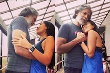 Milind Soman Dancing in the Rain with His Ladylove Ankita Konwar is Straight Out of Fairytale