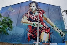 PV Sindhu Shares Her 40 Feet Wall Art on Sardar Patel Stadium in Khammam, Thanks Artists