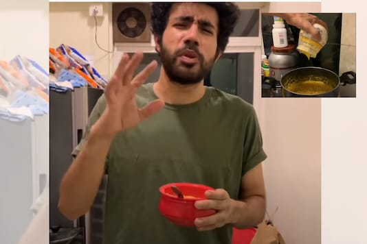 Abhishek Upmanyu khichdi recipe / YouTube.