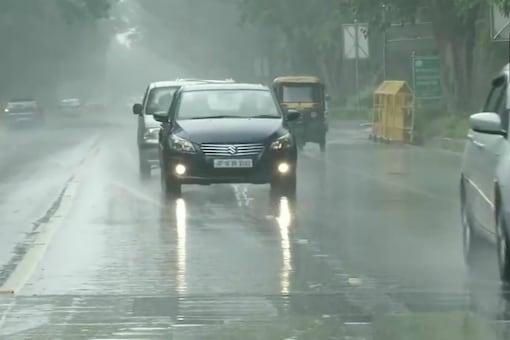 Heavy rains lashed capital city last week.