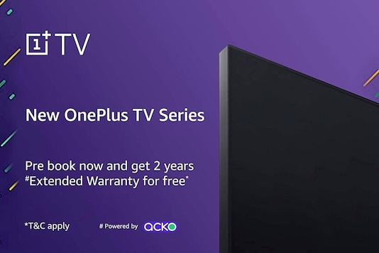 OnePlus TV Listed For Pre-Order on Amazon With Free Extended Two-Year Warranty