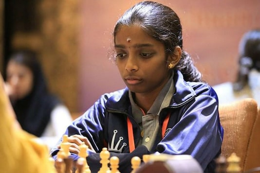 R Vaishali Bows Out of Women Speed Chess Championship 1st Leg